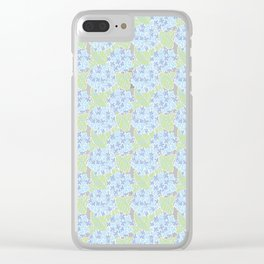 Japanese Floral Pattern 04 Clear iPhone Case