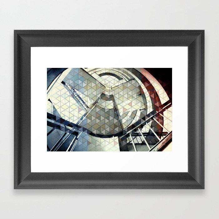 Well of dreams Framed Art Print