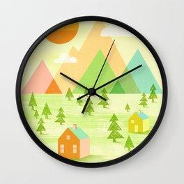 Prosperous Wall Clock