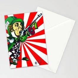 Mad Hatter Sunburst Stationery Cards