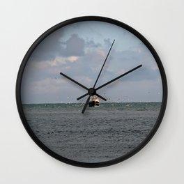Boat, Looe Cornwall Wall Clock