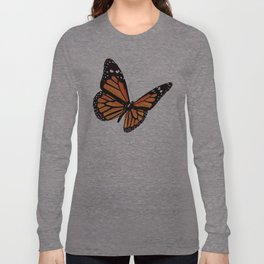 Geometric Butterfly Long Sleeve T-shirt