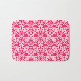 Flamingo Damask Bath Mat