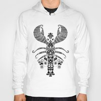 lobster Hoodies featuring 17th Century Lobster by Farnell
