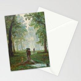 "Ivan Shishkin ""Rain in the oak forest"" Stationery Cards"