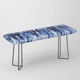 Blue Shibori Z Bench