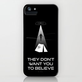 They Don't Want You to Believe - Dyatlov Pass Incident iPhone Case