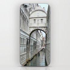 Bridge of sighs in Venice iPhone & iPod Skin