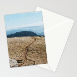 Windswept Day at Mt. Tam Stationery Cards