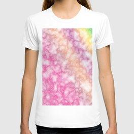 Rainbow marble texture 5 T-shirt