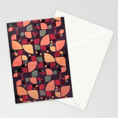 Vintage Butterflies Pattern Stationery Cards