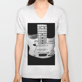 While my guitar gently weeps Unisex V-Neck