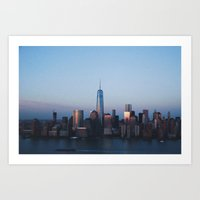 77H Sunset Art Print