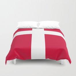 Danish Flag Duvet Cover