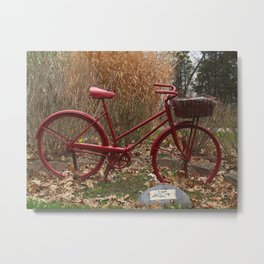 Monument to the Bicycle Metal Print