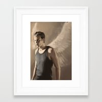 roman Framed Art Prints featuring Roman by Miki Price