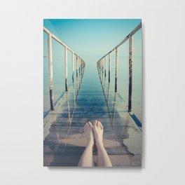 Dead Sea Colors Metal Print