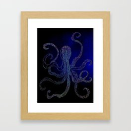split octo personalities Framed Art Print