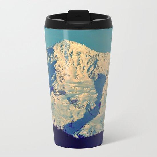 MT. HOOD - AT TWILIGHT Metal Travel Mug