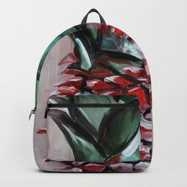 Ananas, red fruit, pineapple Backpack