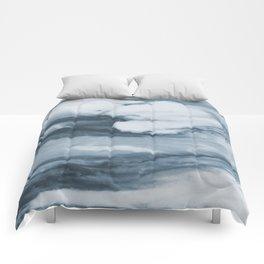 Ocean Deep Marble Comforters