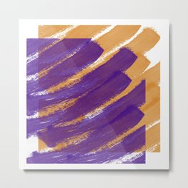 Abstract pattern 68 Metal Print