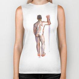 PATRICK, Nude Male by Frank-Joseph Biker Tank