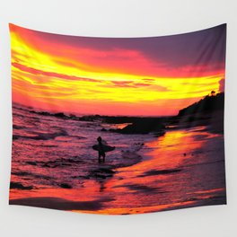 Day's End * Costa Rica Wall Tapestry