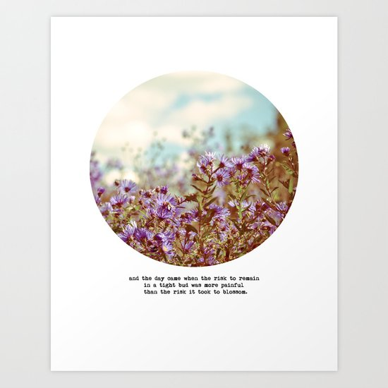 And the Day Came Art Print