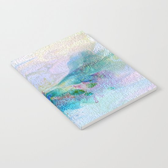 Soft Shaded Floral Abstract Notebook