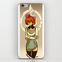 rwby iPhone & iPod Skins featuring Penny Polendina from RWBY with Atlas Symbol. by Roanam