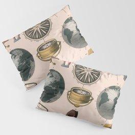 Magnetism. Popular Diagrams. 1850 Pillow Sham