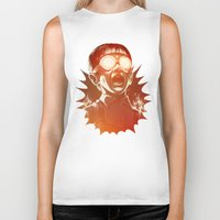 crazy Biker Tanks featuring FIREEE! by Dr. Lukas Brezak