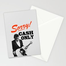 Sorry! Cash Only Stationery Cards
