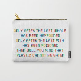 The last Fish Carry-All Pouch