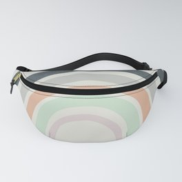 Abstract Rainbow Fanny Pack