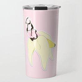 バナナ いちご Drink Travel Mug