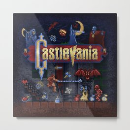 Vania Castle Metal Print