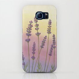 Lavender in Sunset iPhone Case
