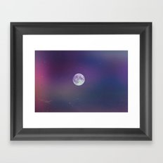 Moonlit Framed Art Print