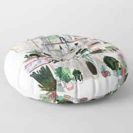 Plant Room Floor Pillow