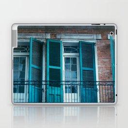 French Quarter Blues, No. 1 Laptop & iPad Skin