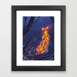 In the Shallows Framed Art Print