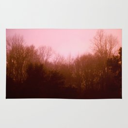 Pink Trees Rug