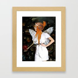 Samael Framed Art Print