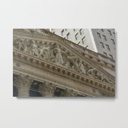Finance Bros Metal Print
