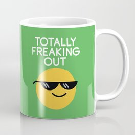 Froze Colored Glasses Coffee Mug