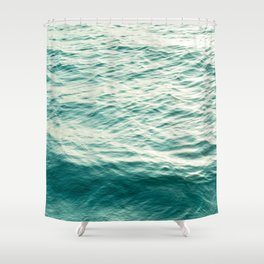 Blue Water Shower Curtain