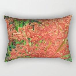 Secret Garden   Red Spider Lily Rectangular Pillow