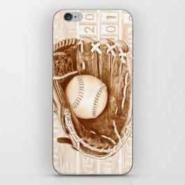 Softball iPhone Skin